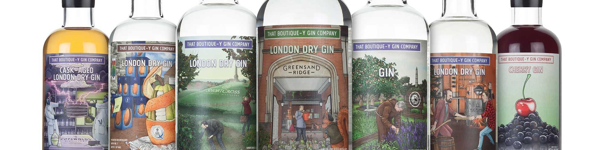 Boutique-y Gin Range